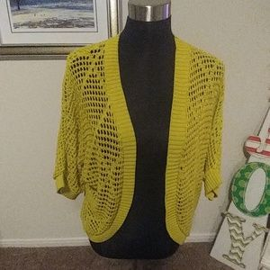 Shrug with elbow length sleeves NWOT